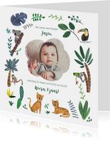 Kinderfeestjes - Kinderfeestje dierentuin jungle tijgers