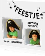 Kinderfeestje piraat slinger