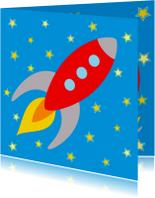 Kinderkaarten - Kinderkaart Raket