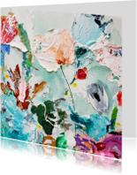 Kunstkaarten - Kunst paletstukken iets fraais