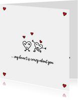 Valentijnskaarten - Lief valentijnskaartje