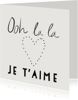 Liefde kaarten - Liefdekaart Hartjes
