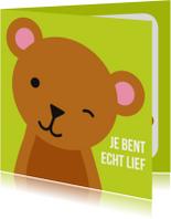 Dierenkaarten - Lieve Beer Dierenkaart