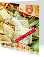 Verjaardagskaarten - more money inside