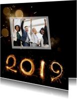 Zakelijke kerstkaarten - Nieuwjaar vuurwerk 2019