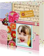 Verjaardagskaarten - Opa en Oma dag collage