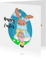 Pasen. Miss Bunny