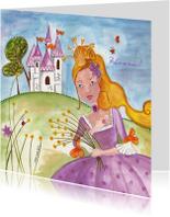 Prinses en Kasteel by Cartita Design