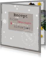 Kerstkaarten - Recept voor fijne feestdagen