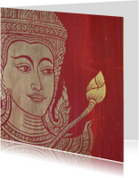 Religie kaart Boeddha -LB