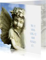 Rouwkaart Vlinderkindje