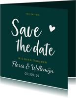 Save the date - stijlvol met namen