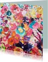 Kunstkaarten - Schilderij in kaartvorm - schilderkunst van iets fraais