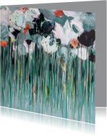 Schilderij 'Morgen' bloemen