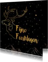 Zakelijke kerstkaarten - Sfeervolle zakelijke kerstkaart- IR