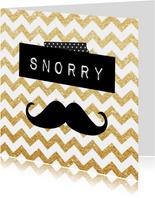 Sorry kaarten - snorry kaart
