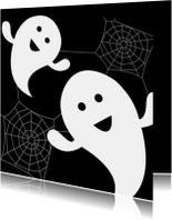 Halloween kaarten - Spookjes