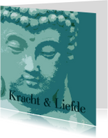 Sterkte kaart Boeddha kracht liefde