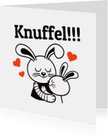 Sterkte - Konijn knuffel - TW