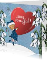 Sterktekaart Knuffel Winter - IH