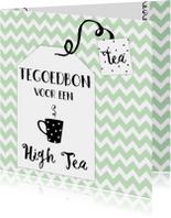 Tegoedbon High Tea - WW