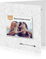 Trouwkaarten - Trouwkaart_ThomasSandra_SK