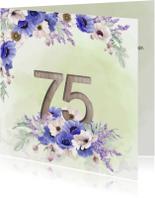 Uitnodiging 75 jaar anemonen