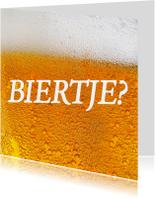 Uitnodiging Biertje