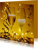 Uitnodiging Champagne Nieuwjaarsborrel