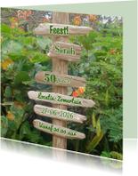 uitnodiging drijfhout natuur