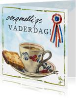 Vaderdag kaarten - Vaderdagkaart Lang Leve de Boerderij Rien Poortvliet