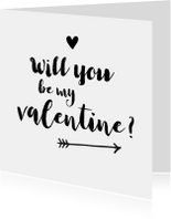 Valentijn - will you be my valentine?
