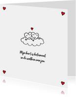 Valentijns hartjes