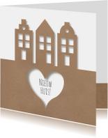 Verhuiskaart BrownPaperNewHouse