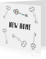 Verhuiskaarten - Verhuiskaart new home PA