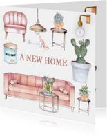 Verhuizen trendy meubels