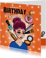 Verjaardagskaarten - Verjaardag - Beauty