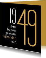 Verjaardagskaarten - Verjaardag geboorte 1949