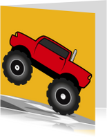 Verjaardag Monster Truck Auto jongen 67