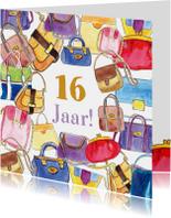 Verjaardagskaarten - Verjaardag Tassen