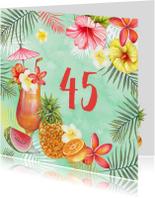 Verjaardag tropische cocktail