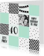 Verjaardag/uitnodiging blok - WW