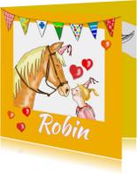 Verjaardagskaarten - Verjaardag-verjaardagspaardje