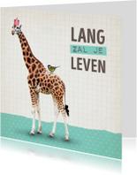 Verjaardagskaart Giraf-99