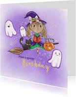 Verjaardagskaarten - Verjaardagskaart Maple and Chestnut Spoopy Birthday