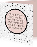 Vriendschapskaartje gedicht - WW