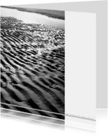 Condoleancekaarten - Water en zand