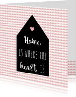 Welkom thuis kaart quote - WW