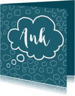 Sterkte kaarten - Wens in een wolk