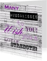 Woorden Hugs & Kisses - BK